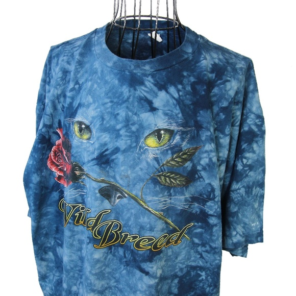 Other - VTG Wild Breed Tie Dye Graphic T shirt USA made